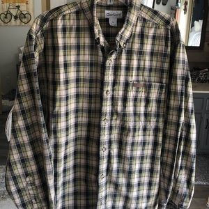 Carhartt long sleeve button down. XL